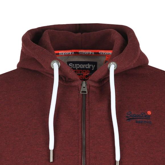 Superdry Mens Purple Orange Label Ziphood main image
