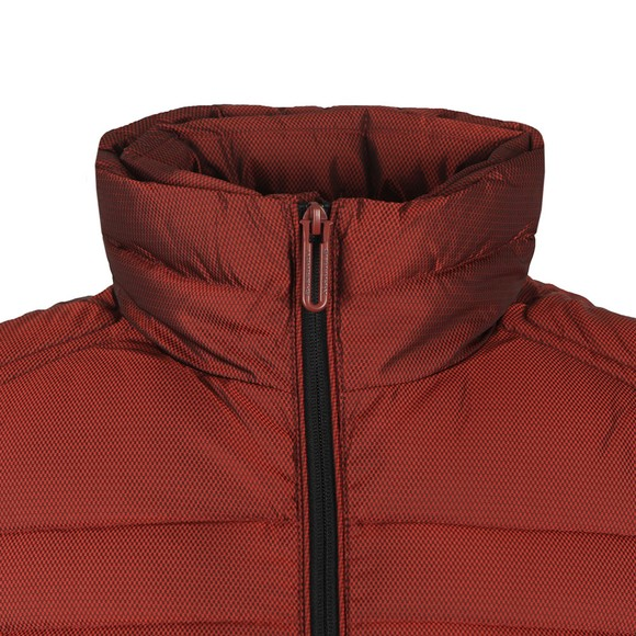 Superdry Mens Red Double Zip Fuji Jacket main image