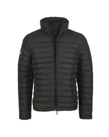 Superdry Mens Black Double Zip Fuji Jacket