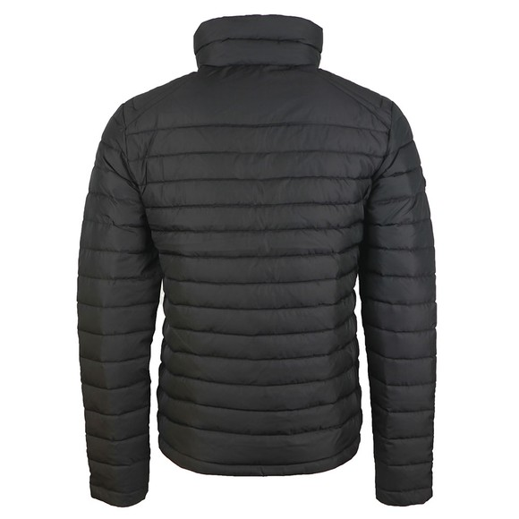 Superdry Mens Black Double Zip Fuji Jacket main image