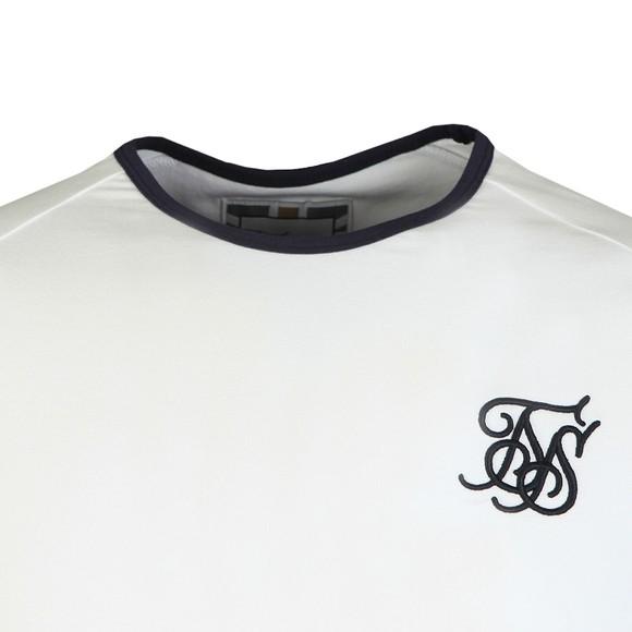 Sik Silk Mens White Sprint Gym Tee main image