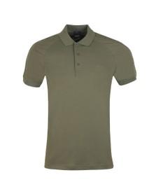 BOSS Mens Green Athleisure Paule 2 Shoulder Logo Polo Shirt