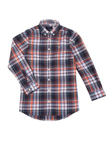 Gant Boys Black Boys  Madras Shirt