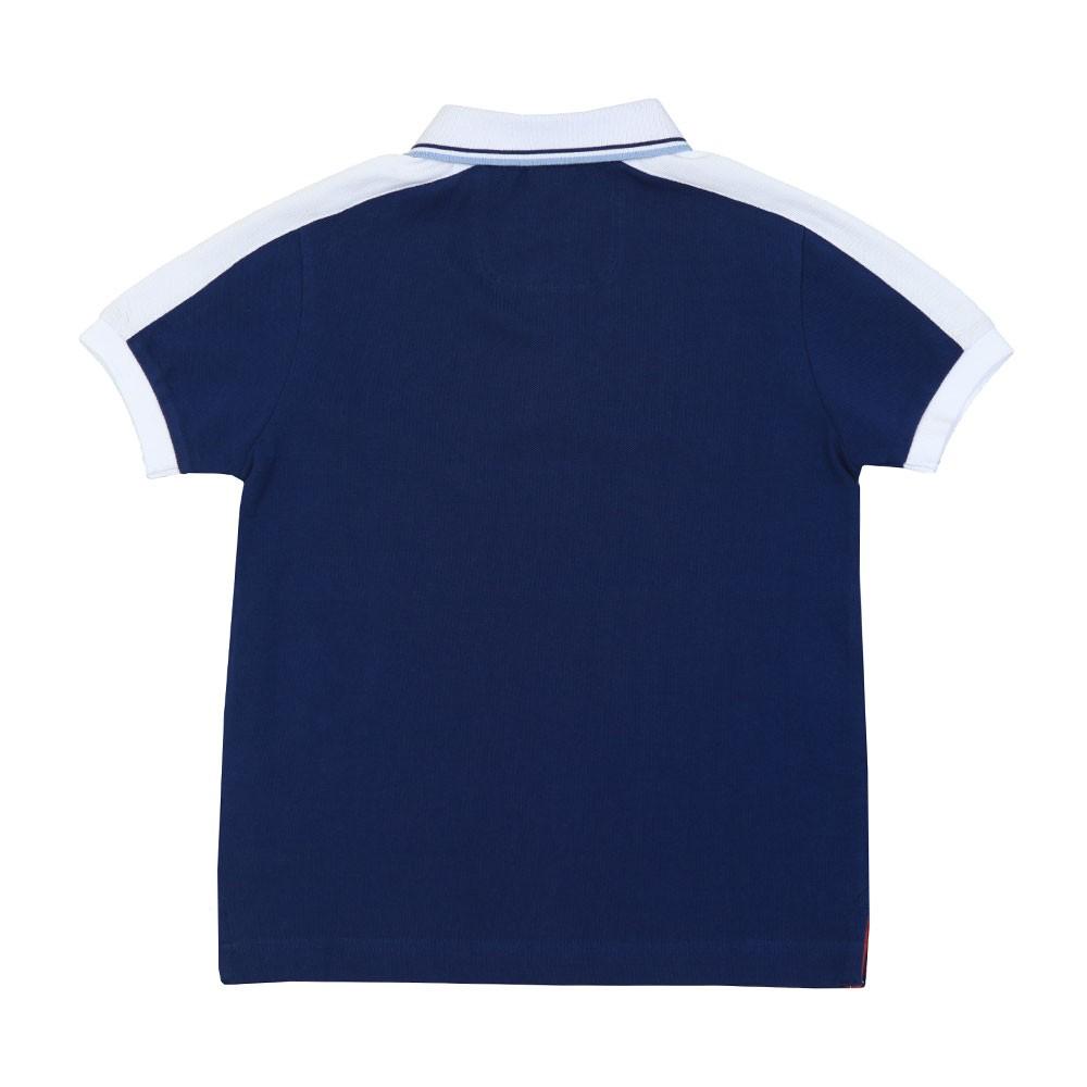 AMR Stripe Panel Polo Shirt main image