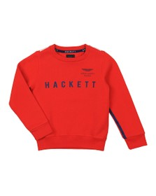 Hackett Boys Red Boys AMR Raglan Sweatshirt