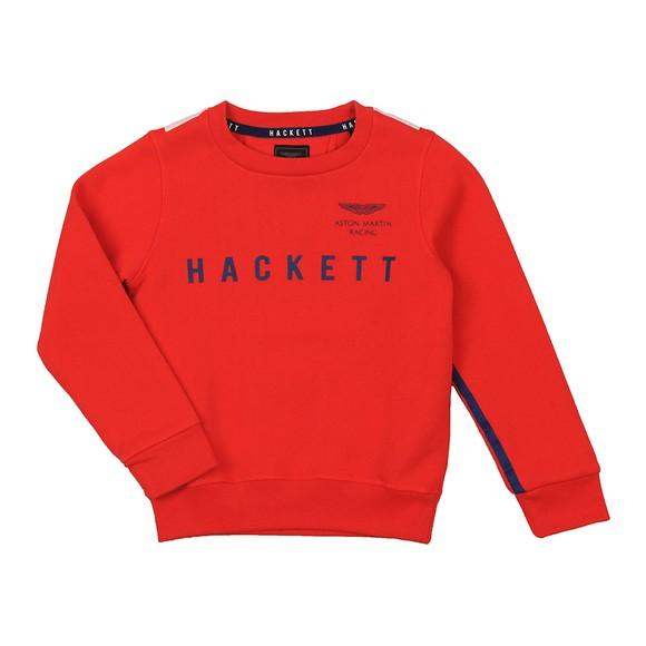 Hackett Boys Red Boys AMR Raglan Sweatshirt