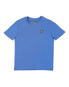 Lyle And Scott Junior Boys Federal Blue Plain Crew T Shirt