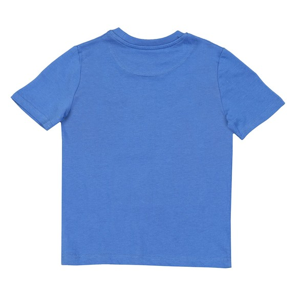 Lyle And Scott Junior Boys Federal Blue Plain Crew T Shirt main image