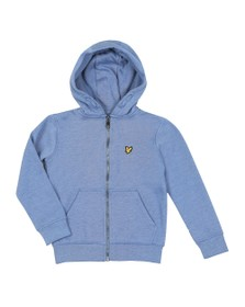 Lyle And Scott Junior Boys Blue Classic Zip Hoody