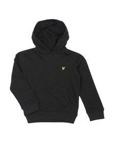 Lyle And Scott Junior Boys Black Classic Overhead Hoody
