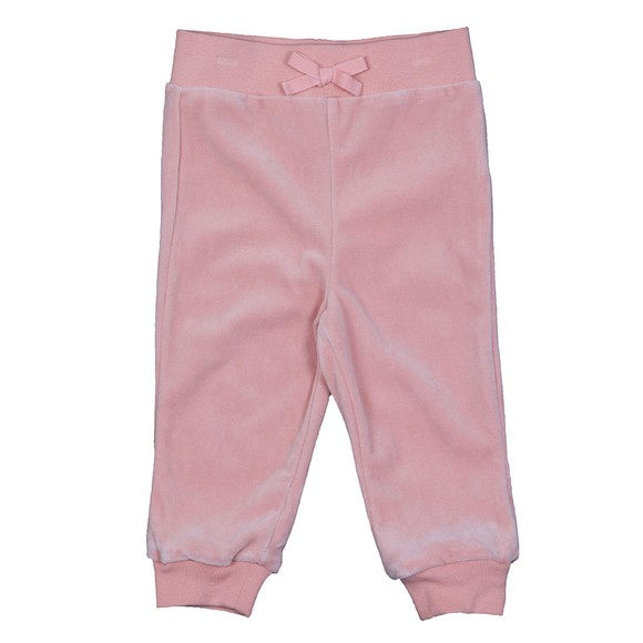 Polo Ralph Lauren Girls Pink Velour Tracksuit