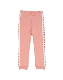 Guess Girls Pink Heart Logo Jogger