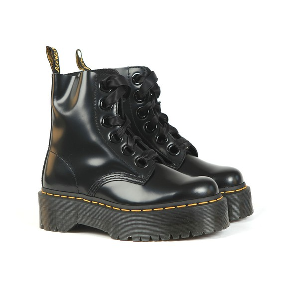 Dr. Martens Womens Black Molly Boot