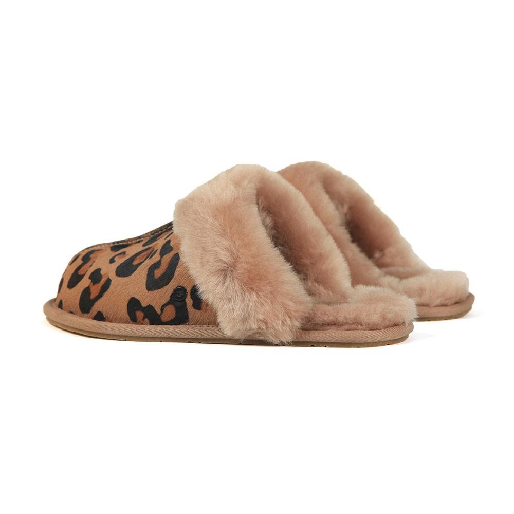 b0dbcc06c97 Womens Brown Scuffette II Leopard Slipper