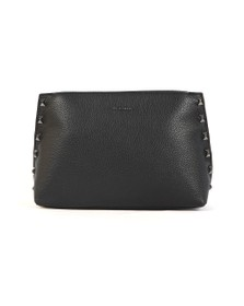 Ted Baker Womens Black Jemira Bow Stud Clutch Bag