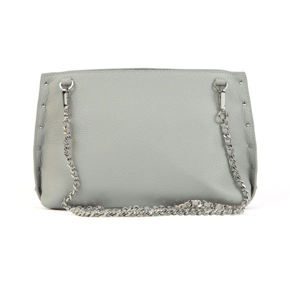 Ted Baker Womens Grey Jemira Bow Stud Clutch Bag main image