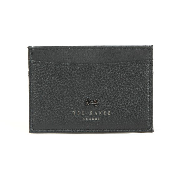 Ted Baker Womens Black Lissie Bow Card Case Holder main image
