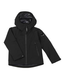C.P. Company Undersixteen Boys Black Pro Tek Hooded Jacket