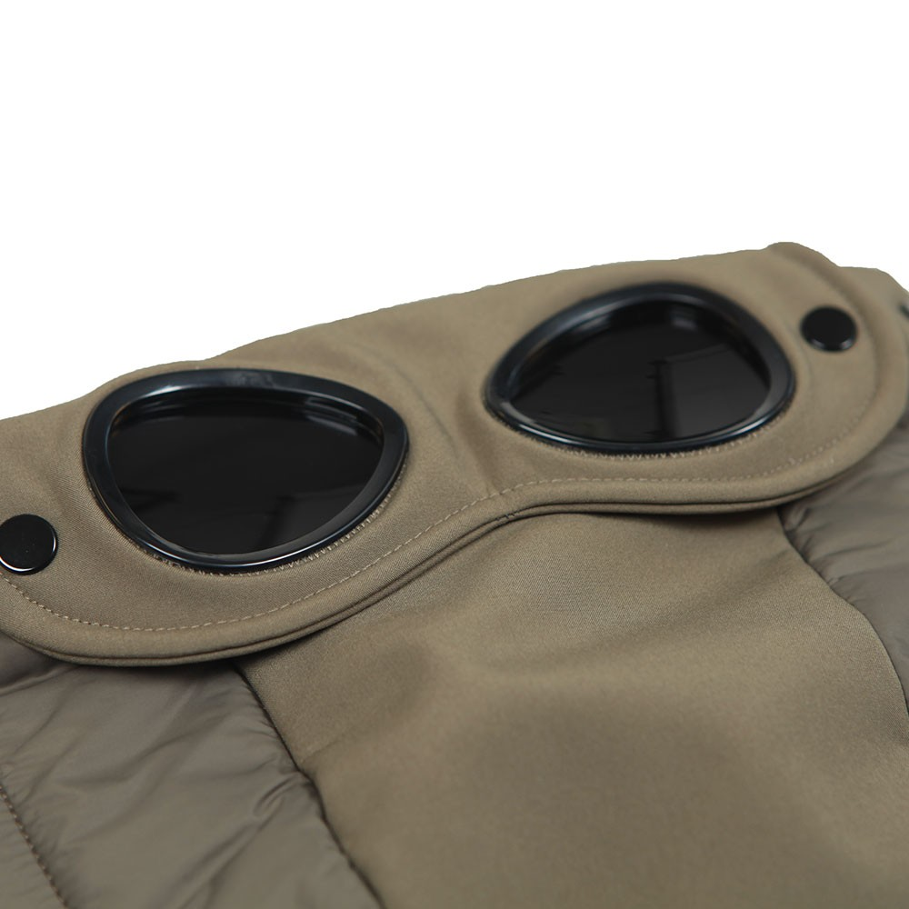CP Shell Mixed Fabric Goggle Jacket main image