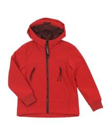 C.P. Company Undersixteen Boys Red CP Shell Goggle Jacket