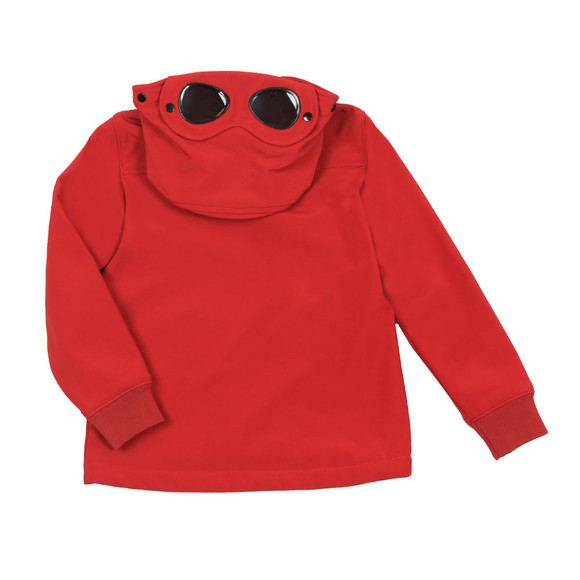 C.P. Company Undersixteen Boys Red CP Shell Goggle Jacket main image