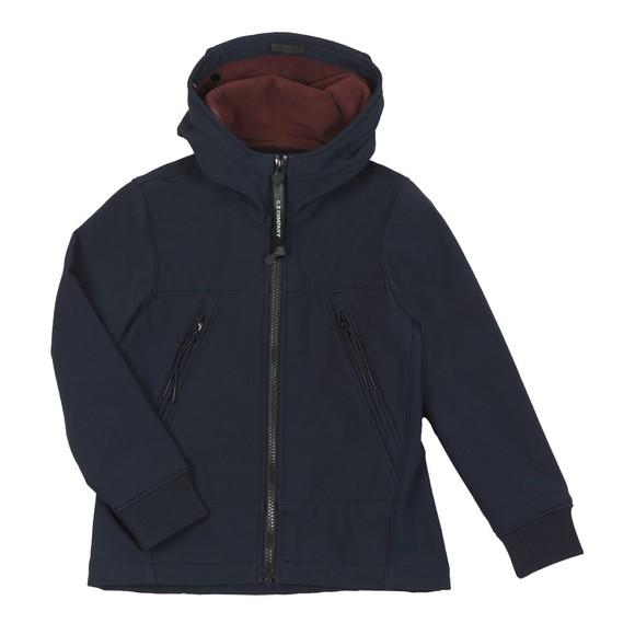 C.P. Company Undersixteen Boys Blue CP Shell Goggle Jacket