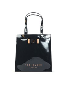 Ted Baker Womens Blue Sofcon Bow Detail Large Icon Bag
