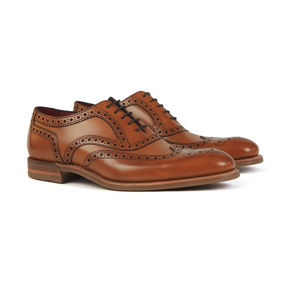 Loake Mens Brown Kerridge Shoe