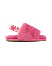 Ugg Girls Fuschia Kids Fluff Yeah Slide