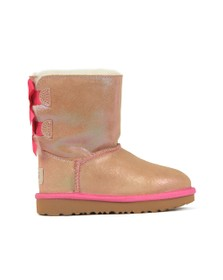 Ugg Girls Pink Bailey Bow II Shimmer