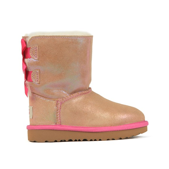 Ugg Girls Pink Bailey Bow II Shimmer  main image
