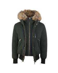 Mackage Mens Green Dixon-X Hooded Jacket