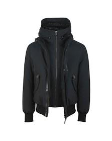 Mackage Mens Black Dixon No Fur Jacket