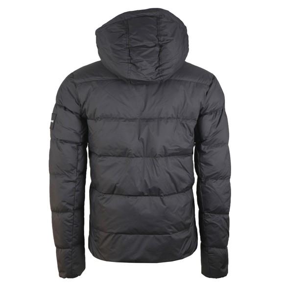 Calvin Klein Jeans Mens Black Hooded Down Puffer Jacket main image