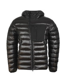 C.P. Company Mens Black Direct Down Shell Puffer Jacket