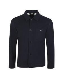 J.Lindeberg Mens Blue Dolph Flat Wool Jacket