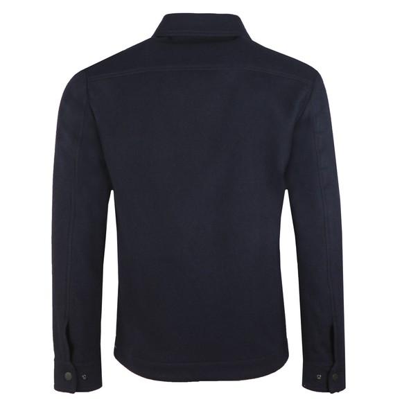 J.Lindeberg Mens Blue Dolph Flat Wool Jacket main image