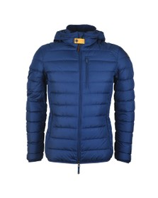 Parajumpers Mens Blue Last Minute Puffer