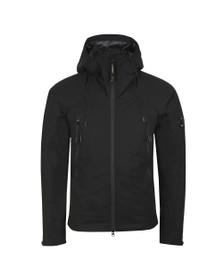 C.P. Company Mens Black Padded Hooded  Pro-tek Jacket