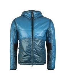C.P. Company Mens Blue Outline Primaloft Goggle Jacket