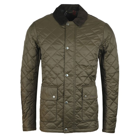 Barbour Lifestyle Mens Green Diggle Quilt Jacket