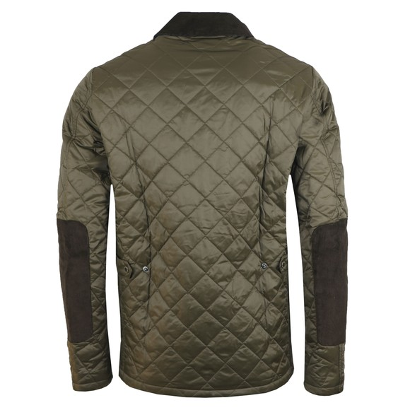 Barbour Lifestyle Mens Green Diggle Quilt Jacket main image