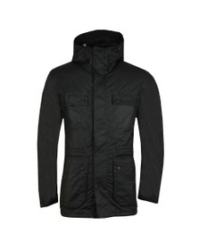 Barbour International Mens Black Imboard Wax Jacket