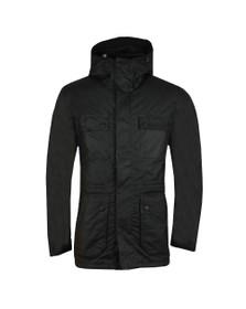 Barbour International Mens Black Imboard Wax Jacket