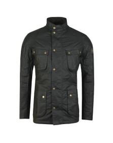 Barbour International Mens Green Winter Lockseam Wax Jacket