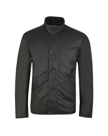 Barbour International Mens Black Ducal Wax Jacket