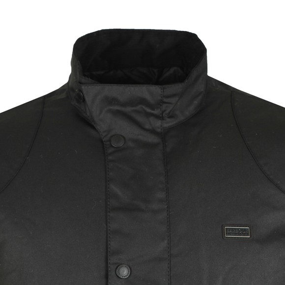Barbour International Mens Black Ducal Wax Jacket main image