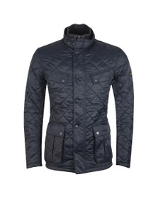 Barbour International Mens Blue Windshield Jacket