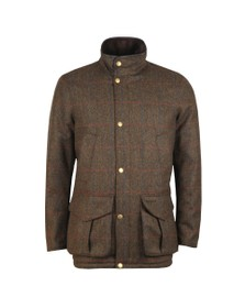 Barbour Countrywear Mens Green Tweed Hereford Jacket