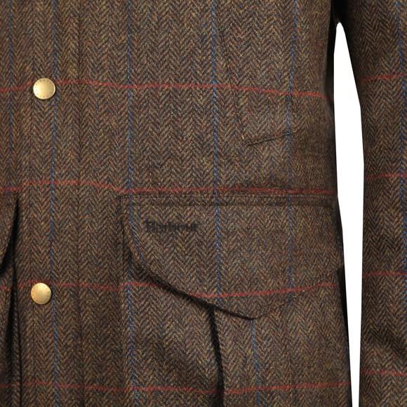 Barbour Countrywear Mens Green Tweed Hereford Jacket main image
